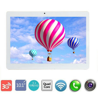 10.1 inch Android 7.0 Tablet PC 4GB+64GB Octa Core WIFI GPS Phone Wifi Phablet F
