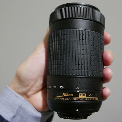 Nikon AF-P 70-300mm f/4.5-6.3G DX ED VR Lens (Bulk) Ship in EU