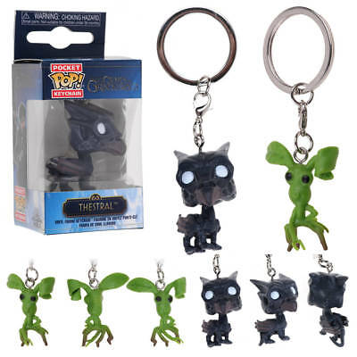 Fantastic Beasts Thestral Pickett Keychains Key Ring Keyring Action Figure Gift