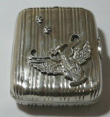 Imperial Russian 84 Silver Box St. Petersburg 1909 Jacob Rozen