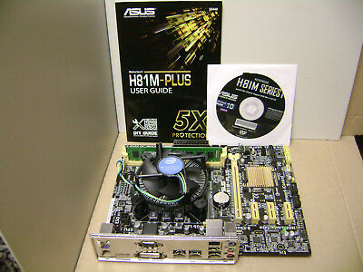 ASUS H81-PLUS /& H81M-PLUS MOTHERBOARD AUTO INSTALL DRIVERS M4588