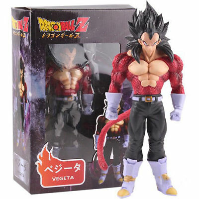 Dragon Ball Z Super Saiyan 4 GT Vegeta PVC Action Figure Collectible Model NoBox