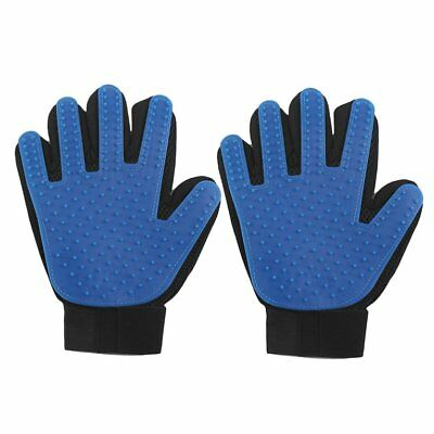 True Touch Brush Glove Pet Dog Cat Massage Grooming Wash Hair Removal OZ TR