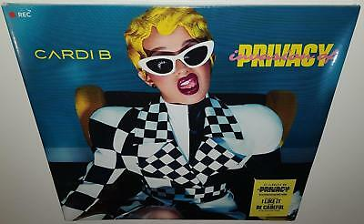 Cardi B Invasion Of Privacy (2018 Release) Brand New Sealed Vinyl Lp