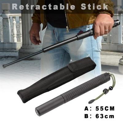 Telescopic Pole Expandable Baton Telescopic Stick For Self-Defense Security DE