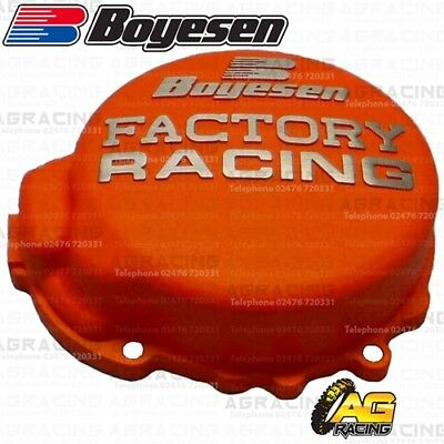 Boyesen Factory Racing Orange Ignition Cover For KTM SX EXC MXC XC XC-W 125-200
