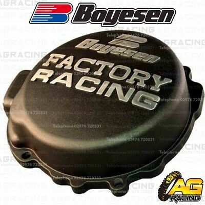 Boyesen Factory Racing Black Ignition Cover For KTM SX EXC MXC XC XC-W 125-200
