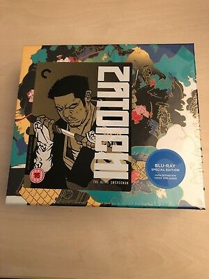 Criterion Zatoichi (Blu Ray special box edition)