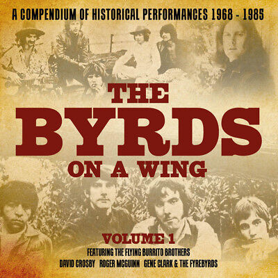 THE BYRDS ON A WING  - Volume 1. New 8CD BOX + Sealed **NEW**