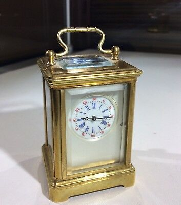 Mother of Pearl Miniature Carriage Clock
