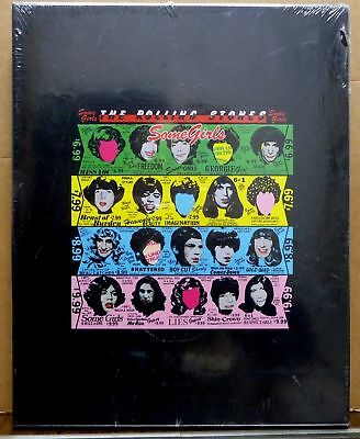 """The Rolling Stones Some Girls Lim. Ed. Box 2CD, DVD, 7"""" Vinyl + 100page Book"""