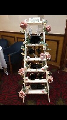 Wedding Decoration Memory Ladder White Up Cycle Old Wooden Ladders