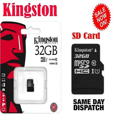 SanDisk Class 10 Ultra 32GB 80MB/s Micro SD SDHC Memory Card UHS-I with adapter