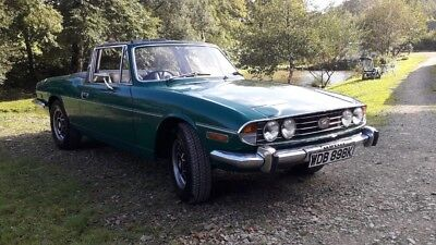Triumph Stag 1972 manual 3.0ltr V8