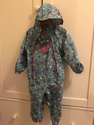 jojo maman bebe 12-18 Month Girls All In One Weather Proof Pack Away