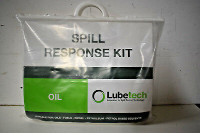 Lubetech Oil Spill Response Kit Health and Safety Kit NEW Last in Stock