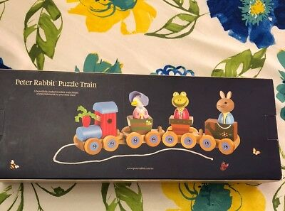 Orange Tree Toys Peter Rabbit /& Friends Puzzle-Zug,
