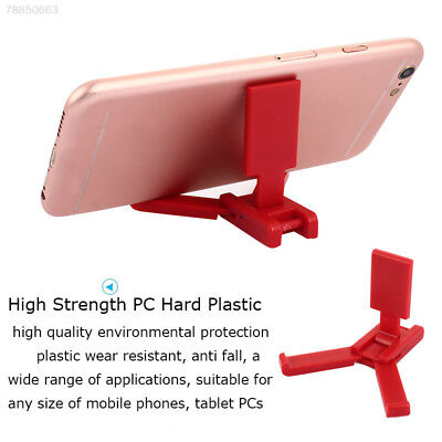 27A2 Triangle Folding Electroplating Cell Phone Stand Supplies Support Tablet