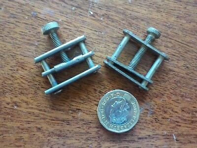 Pair of Vintage Model Makers Clamps tool