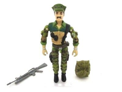 Action Force GI Joe Cobra ☆ LEATHERNECK v1 ☆ Figure Rare Hasbro Vintage nr 100%