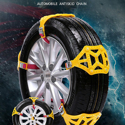 C423 Thickened Durable Emergency Roadway Safety Anti-Skid Chains Snow Tire Belt
