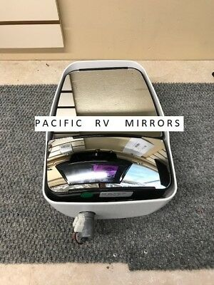Velvac 714590 White Passenger Side Deluxe Mirror Head