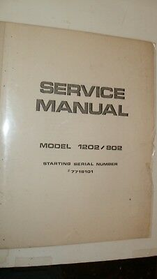 Tangent  1202 / 802   Service Manual