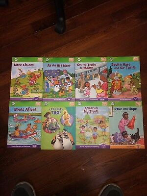 LeapFrog Tag Reader books lot of 8 Vowels books