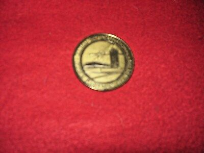VINTAGE Oct, 21-23 1972 KANSAS CITY AIRPORT DEDICATION METAL COIN