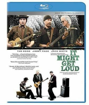 It Might Get Loud (Blu-ray Disc, 2009) Brand New Sealed