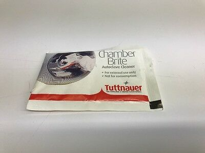 Tuttnauer Chamber Brite AutoClave Cleaner CB0010 - 1 Box = 10 Packets