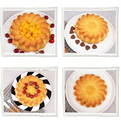 Large Flower Cake Mold DIY Candy Jelly Pan Mould Chocolate Baking Silicone L1P8D