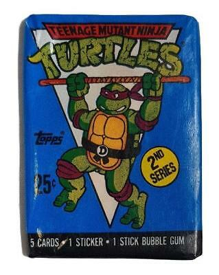 Teenage Mutant Ninja Turtles Vintage 2nd Series Topps 1990 Cards Pack