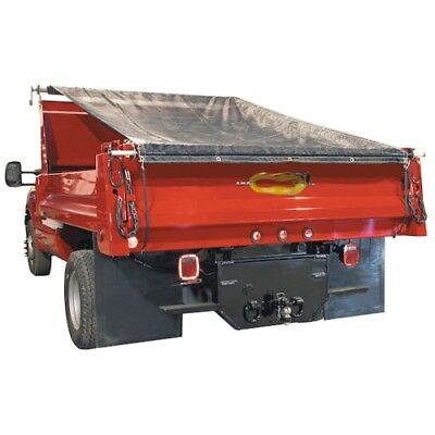 Buyers Products DTR7515 Aluminum Tarp System With Mesh Tarp 7-1/2 X 15 Foot