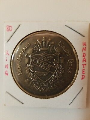 1980 Shangri-la KING Antique Bronze Doubloon