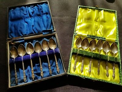 APOSTLE Teaspoons Sets,dont Know Much about Them.Two sets of 6..box quite worn
