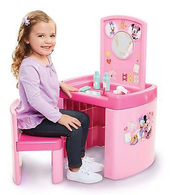 Minnie Mouse Kids Activity Pretend Play Table Chair Set/ Happy Helpers Toy Gift