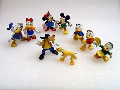 Bully Zeichentrick Figuren WALT DISNEY Mickey Mouse Donald Duck Goofy Bullyland