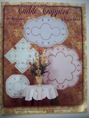 Table Toppers  Hardanger patterns