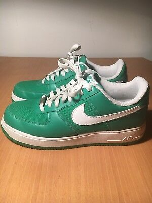 Size Green Sneakers One Nike Uk Force Rare Af 1 White 8 Air qVpzMSU