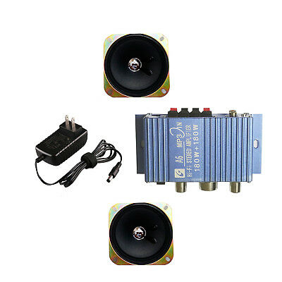 Amplifier Amp and Speaker Upgrade Kit Compatible With Arcade1Up
