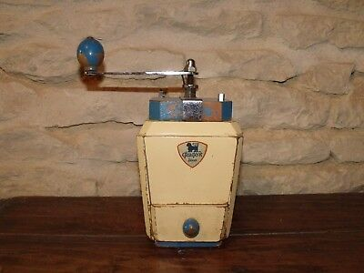 Vintage French Coffee Grinder Peugeot Freres (Le Ric)