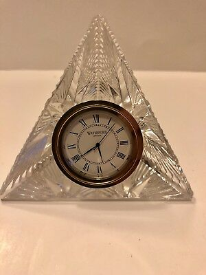 Waterford Crystal 2000 Times Square Pyramid Star Hope Clock