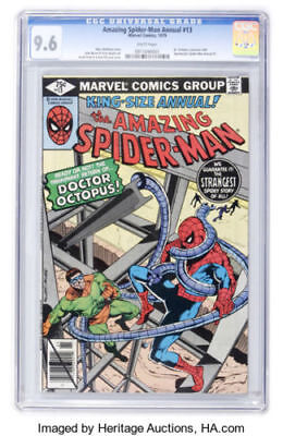 The Amazing Spider-Man Annual #13 (1979, Marvel) CGC 9.6 OW/WP