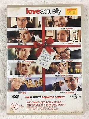 Love Actually (DVD, 2004) Region 2 and 4
