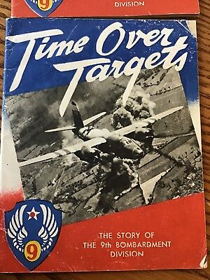 TIME OVER TARGETS: THE STORY OF THE 9TH BOMBARDMENT DIVISION lot of 2