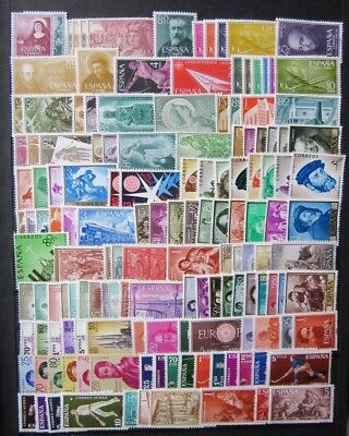 EBS Spain España 1950s-1960s Fine large collection lovely mint stamps - must see
