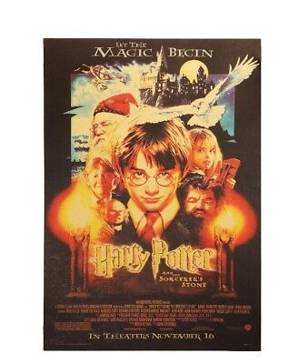 Harry Potter Movie Poster Magic Begin Paper Wall Stickers Placard Home Decor