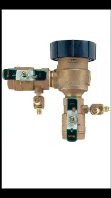 New Watts Pressure Vacuum Breaker 800M4-QT 1 in. 25mm Protect Water Supply