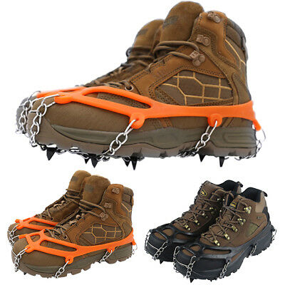 Shoe Cover Ice Gripper Hiking Non Slip Climbing Winter Crampons Snow Spikes